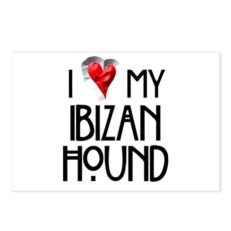 Ibizan Hound Postcards (Package of 8)