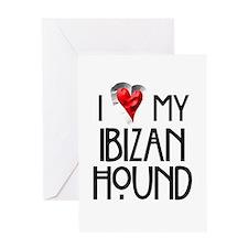 Ibizan Hound Greeting Card