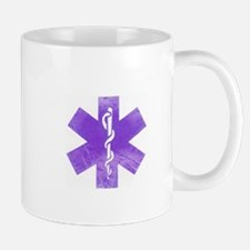 Purple star of life Mug
