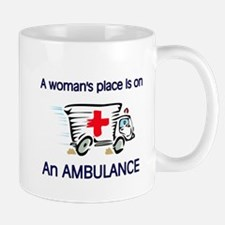 women's place ambulance Mug