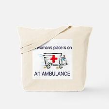 women's place ambulance Tote Bag
