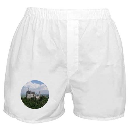 Neuschwanstein Castle Boxer Shorts