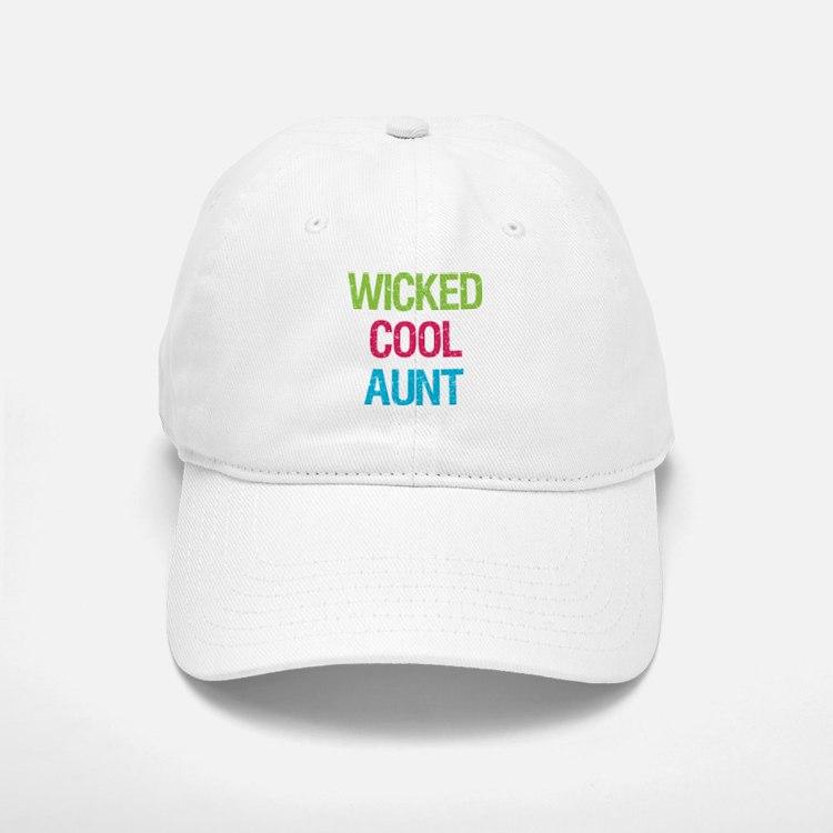 Wicked Cool Aunt! Baseball Baseball Cap