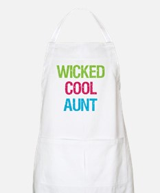 Wicked Cool Aunt! BBQ Apron