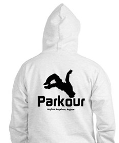 Parkour - The Way, Anytime Hoodie