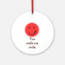 make me smile Ornament (Round)
