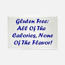 Gluten Free: No Flavor Rectangle Magnet