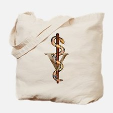 Veterinary Emblem Tote Bag