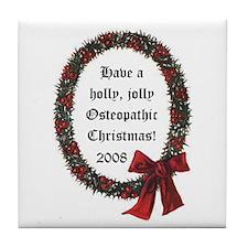 Osteopathic Tile Coaster