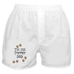 Toy Fox Terrier Dad Boxer Shorts