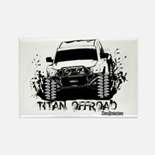Cute Off road Rectangle Magnet