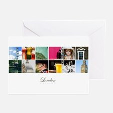 London Collage Greeting Cards (Pk of 10)