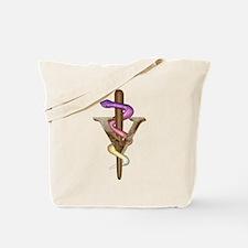 Veterinarian Emblem Tote Bag