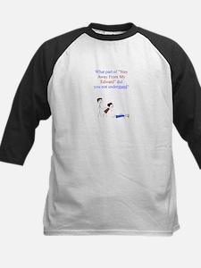 ~My Edward 001 ~ Kids Baseball Jersey
