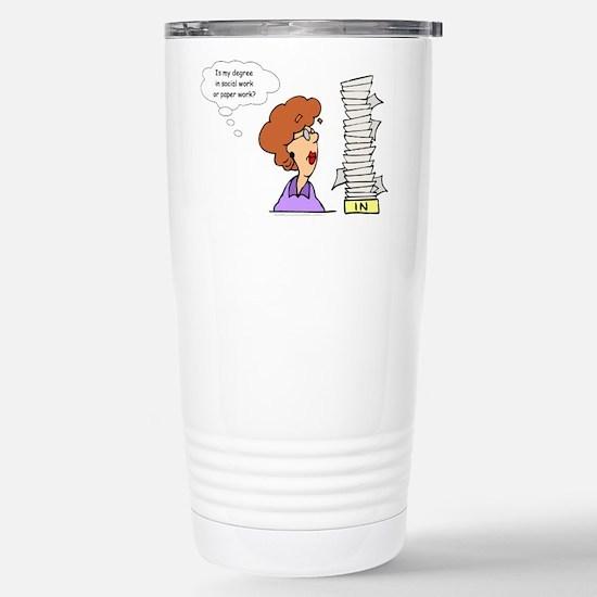 My Degree (Design 2) Stainless Steel Travel Mug