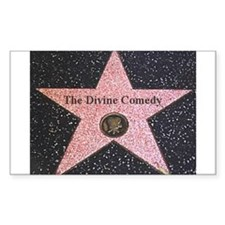 Hollywood Star Rectangle Decal