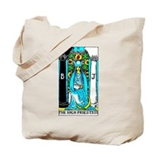The High Priestess Tarot Card Tote Bag