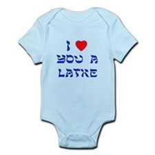 I Love You a Latke Infant Bodysuit