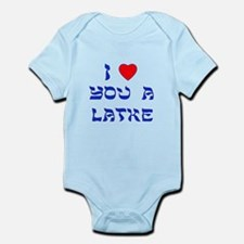 I Love You a Latke Infant Bodysuit