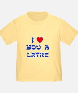 I Love You a Latke T