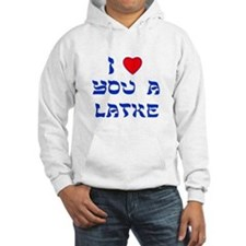 I Love You a Latke Jumper Hoody