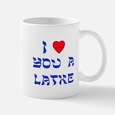 I Love You a Latke Mug