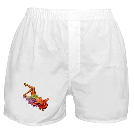 Plaything Pulp Pin Up Girl Boxer Shorts