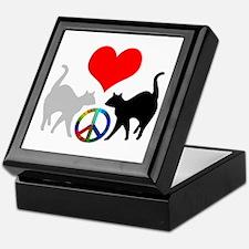 Love & peace Keepsake Box