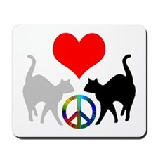 Love & peace Mousepad