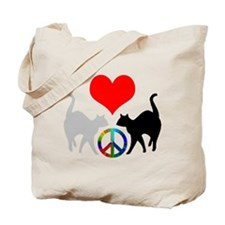 Love & peace Tote Bag