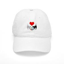 Love & peace Baseball Cap