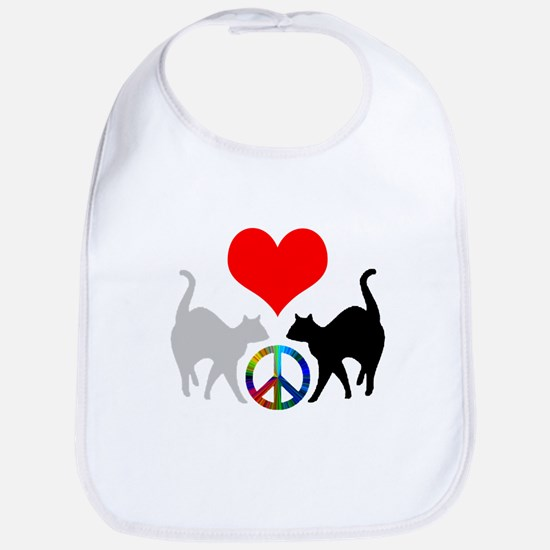 Love & peace Bib