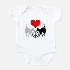 Love & peace Infant Bodysuit
