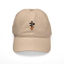 Veterinary Caduceus Baseball Cap
