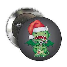 """Christmas Devil 2.25"""" Button"""