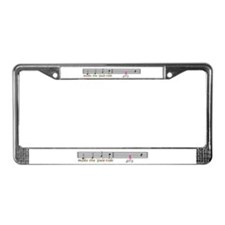 make the yuletide Gay License Plate Frame