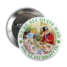 "WE'RE ALL MAD - RENE CLOKE 2.25"" Button (10 pack)"