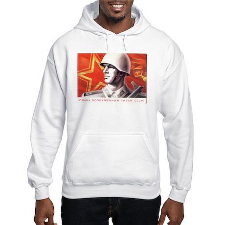Soviet Union Soldier Hooded Sweatshirt
