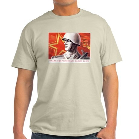 Soviet Union Soldier Ash Grey T-Shirt