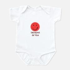 thinking of you Infant Bodysuit