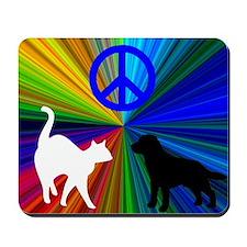 Cat n Dog Mousepad