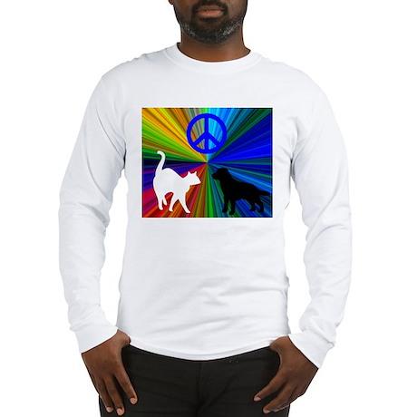 Cat n Dog Long Sleeve T-Shirt