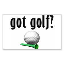 got golf? Rectangle Decal