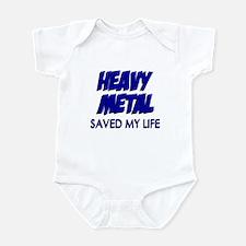 Heavy Metal Saved My Life Infant Bodysuit