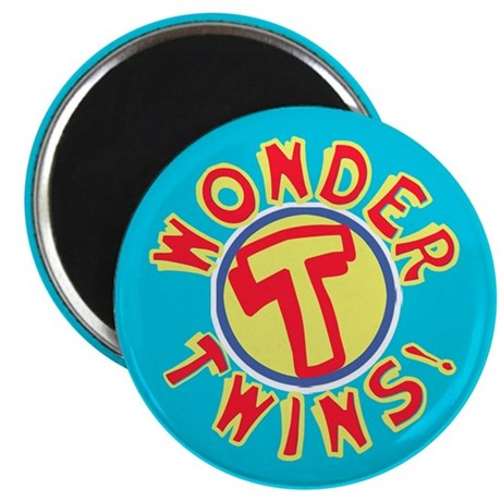 "Wondertwins 2.25"" Magnet (100 pack)"