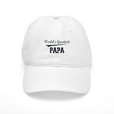 World's Greatest Papa Baseball Cap