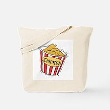 Bucket of Chicken Tote Bag