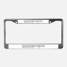 make the yuletide Gay License Plate Frame