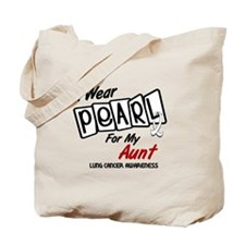 I Wear Pearl For My Aunt 8 Tote Bag