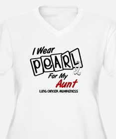 I Wear Pearl For My Aunt 8 T-Shirt
